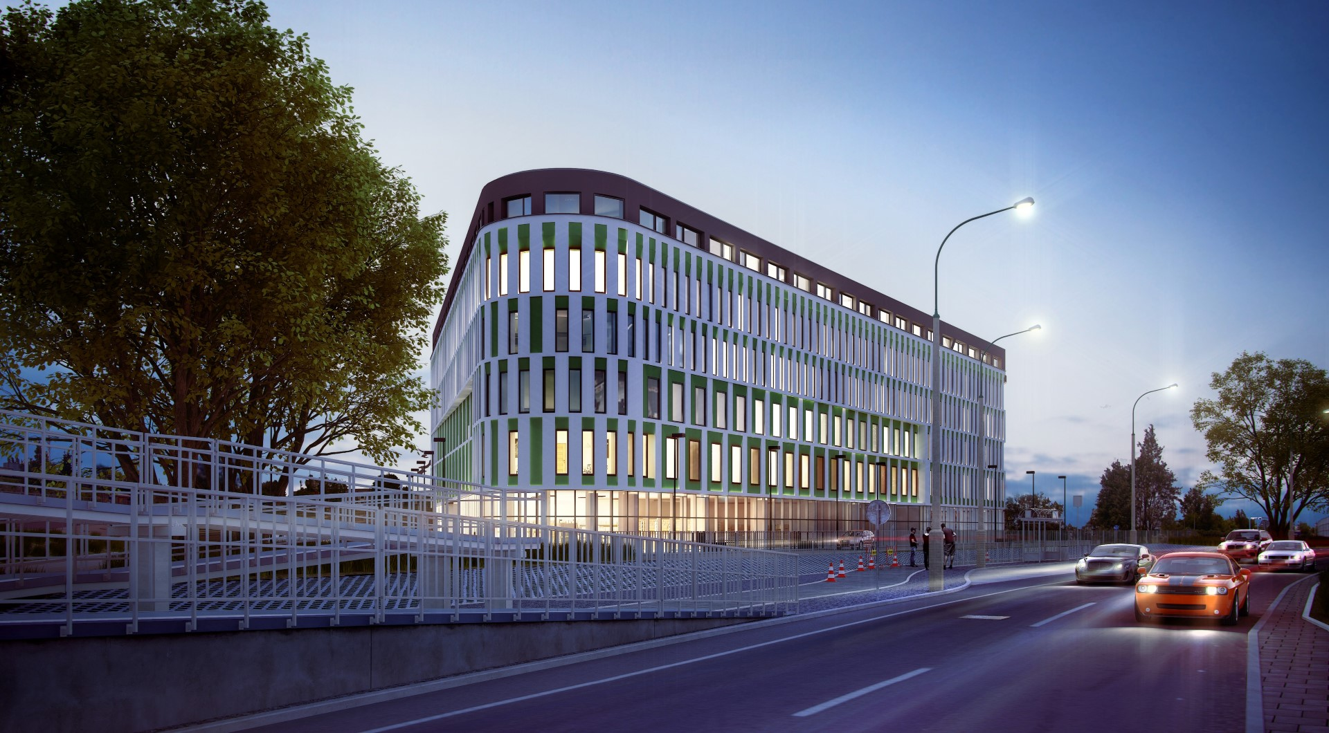 Doraco is the general contractor of the IBIS hotel in Warsaw